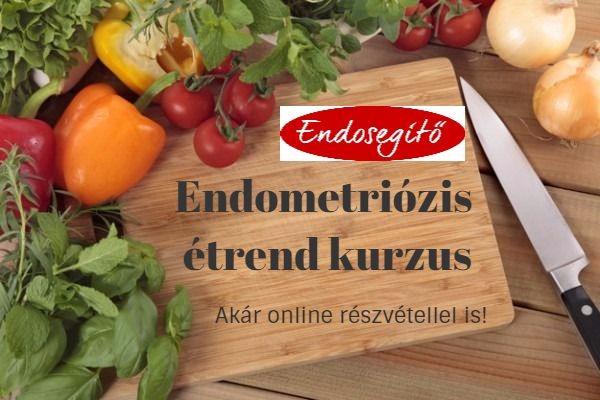 endometriózis étrend kurzus