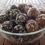 Mindenmentes kókuszgolyó és gesztenyegolyó recept